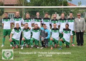 Tiszaalpári SE - Felnőtt csapat